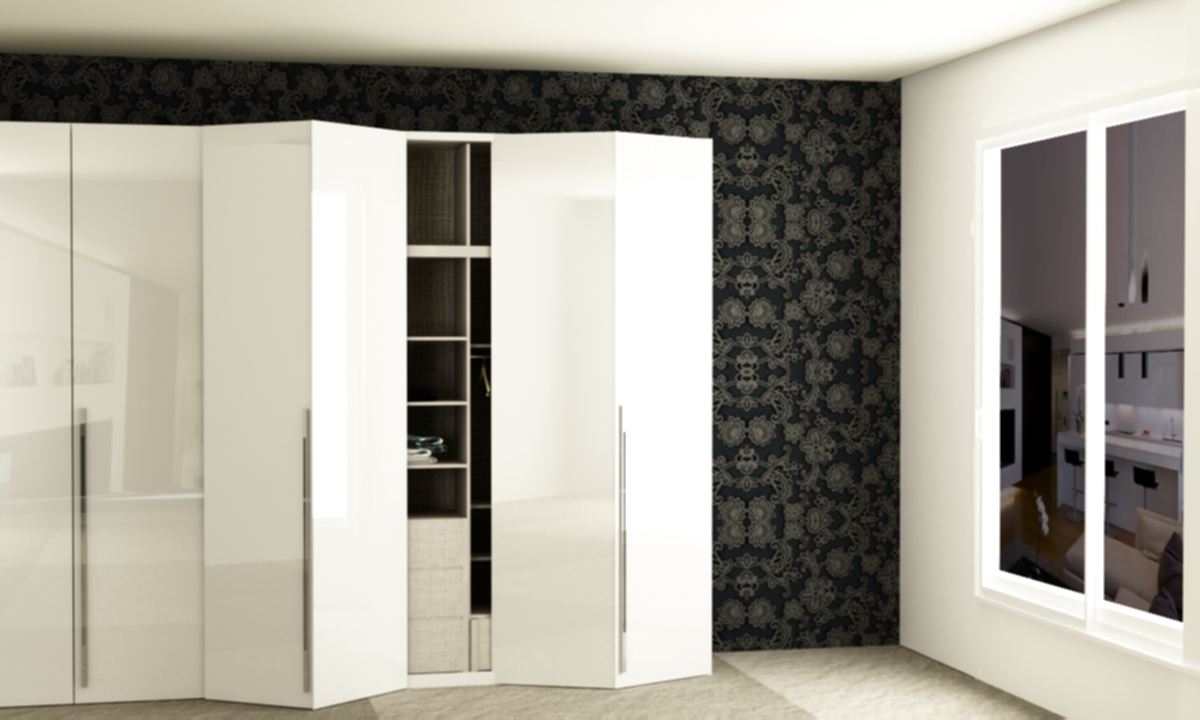 Folding Door Wardrobe | Wardrobes | Guntier